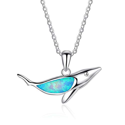 Hnxmkj Accessories Jewelry Ocean Shark Attractions Gifts Synthetic Silver Necklace for The One You Like