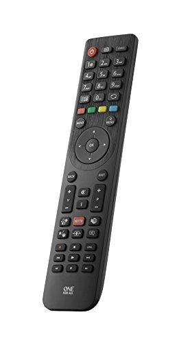Telecomando sostitutivo per TV TELEFUNKEN di One For All – Funziona con TUTTI i televisori Telefunken – Il telecomando sostitutivo ideale - nero -URC1918