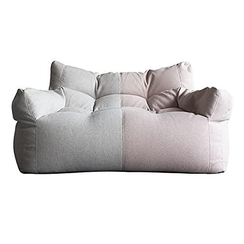 gujiuy Bolsa de Haba Gigante Cubierta de Silla Sofá (sin llenado) Algodón y Ropa de Cama, Adecuado para sofá Perezosos de Tatami, reclinador de Pisos, Taburete Otomano bajo