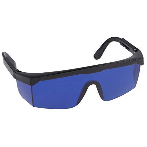LOVIVER Ultraleichtes Schweißen Schneiden Von Schweißern Sicherheit Löten Brillen - Blau