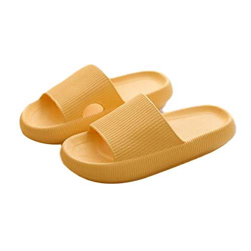 Golden.Y Unisex Hausschuhe rutschfeste Sandalen Duschsandalen Frauen Männer Schuhe Weichschaumsohle Für Indoor Home Garden Badezimmer Am Pool Method