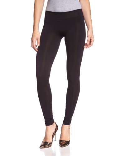 Pieces NOS Damen London NOOS Leggings, Schwarz Black, 40 (Herstellergröße: L/XL)