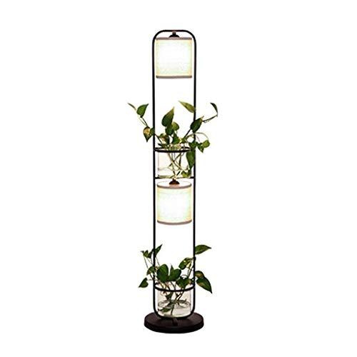 Lámparas de Pie Prácticas Y Simples Lámparas Verticales Lámpara de Pie Ligera Lámpara de Pie Creativa Sala de Estar Ikea Personalidad Planta Sofá Vertical Lámpara de Mesa Práctica Y Simple Dormitorio