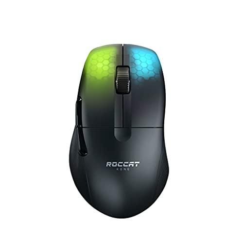 Kone Pro Air - Ergonomic Optical Performance Gaming Wireless Mouse, black