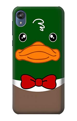 R2762 Green Head Mallard Duck Tuxedo Cartoon Case Cover for Motorola Moto E6, Moto E (6th Gen)