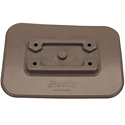 Scotty #341-BK Glue-On Pad For Inflatable Boats (Grey)