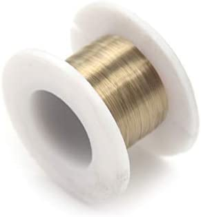 Tool Parts 0.06mm 100M Cutting Wire Separator Line Splitter Gold Molybdenum Wire Cutting for LCD Screen Cutting Wire Splitter - (Color: as picture)