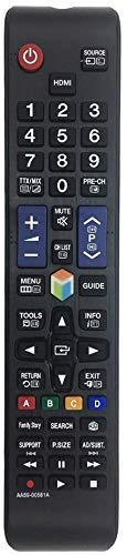 MYHGRC AA59-00581A Mando a Distancia para Samsung Smart TV para Mando a Distancia para Samsung HDTV LCD LED TV-No Requiere configuración Mando a Distancia para Samsung TV