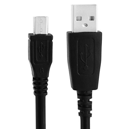 LICHONGGUI Cable de Cargador de sincronización de Datos Micro USB a USB for Samsung Galaxy S6 / S5 / HTC/LG/Sony/Nokia, Longitud: 1 m (Color : Black)