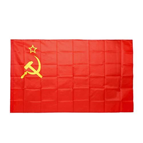 Simplelife Opknoping Sovjet-Unie Vlag Land Banner Activiteit Parade Festival 3x5 Ft