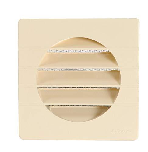 Nicoll - Grille d aeration speciale facade sable getm100 pour tube pvc