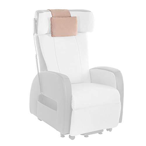 Universal Kopfkissen für Sessel/Coach (beige, Microfaser)