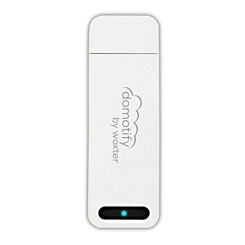 Woxter Domotify Gateway - Dispositivo de domótica inalámbrica, conexión USB, compatible con sistemas Android/iOS