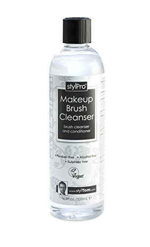 stylPro - Limpiador de brochas de maquillaje, 500 ml