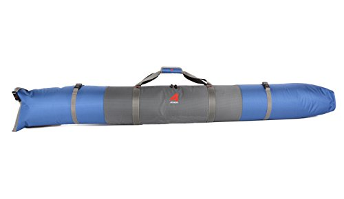 Athalon Single Ski Bag Padded, 155cm, Glacier Blue, (Model: 314)
