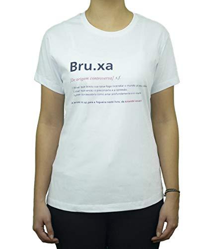 Camiseta Branca Verbete Bruxa (Grande)