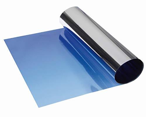 Foliatec 1714 SUNVISOR REFLEX Blendstreifen: Schutz und stylischer Farbverlauf, 20 x 150 cm, Blau
