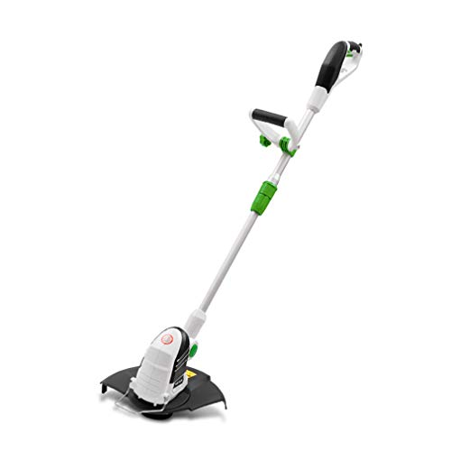 Buy Discount ALUS 250W Trimmer Electric Grass Trimmer Hand Cleaner Grass Cutter Machine Line Trimmer...