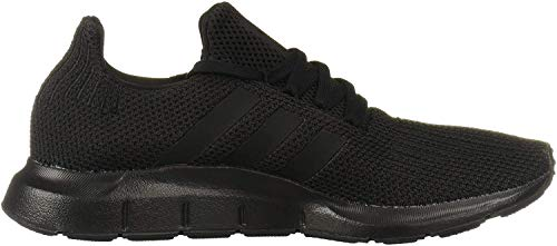 adidas Originals Men's Swift Run Sneaker, Black/Black, 13 M US