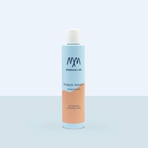 Mermaid + Me Power Papaya Conditioner (200 ml) – reichhaltige Haarspülung mit Arganöl – Spülung mit pflegendem Kokosöl – Papaya Duft