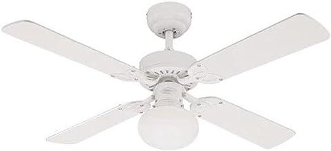 Westinghouse 7218540 Vegas Ventilateur de plafond E27 Métal blanc