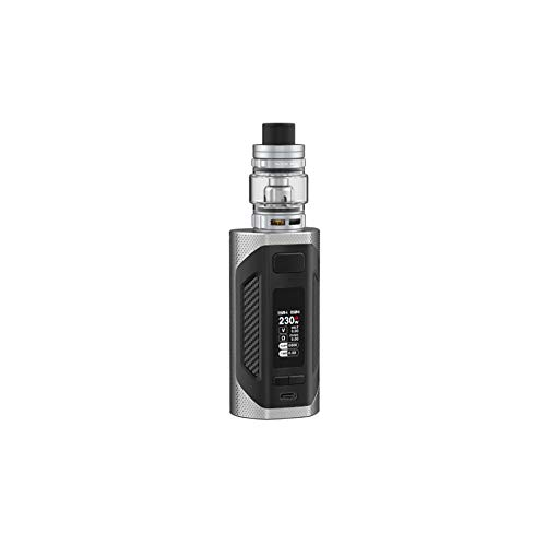 SMOK Rigel 6.5ml Kit Cigarette Electronique 230W Kit Complet - Sans Tabac Ni Nicotine (Argent)