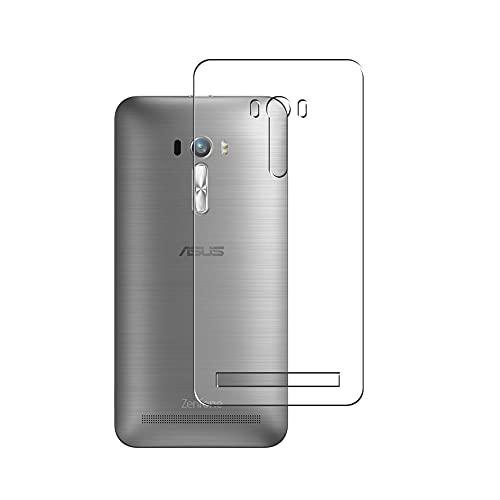 Vaxson 2 Unidades Protector de pantalla Posterior, compatible con ASUS ZenFone Selfie ZD551KL [No Vidrio Templado] TPU Película Protectora Espalda Skin Cover