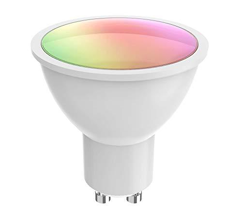 Woox 703574 LED-Leuchtmittel GU10 400 lm Smart Sprachsteuerung Alexa, R9076 Klasse A+ Weiß