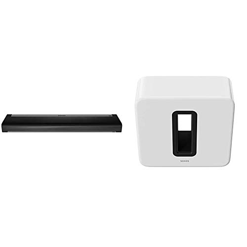Sonos 3.1 Home Theater System, White