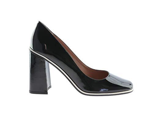 Red Valentino Schuhe Pumps Heels Schwarz Leder, Größe:36