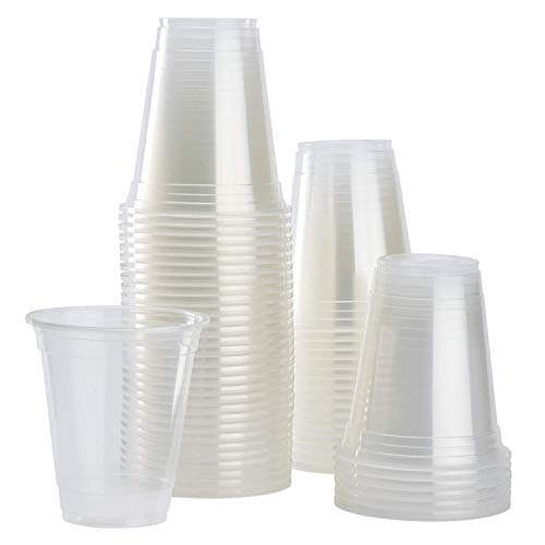 Karat C1012-K 24 oz 700 cc Translucent PP U-Rim Cups (Case of 1000)
