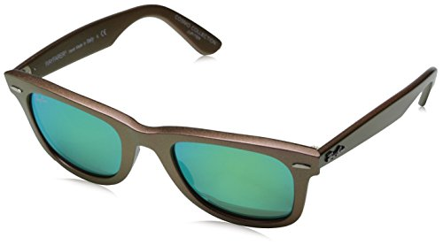 Ray Ban Unisex Sonnenbrille Wayfarer Original Cosmo, Gr. Small (Herstellergröße: 50), Mehrfarbig (grün pink 611019)