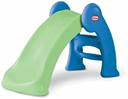 Little Tikes Junior Play Slide Green/Blue, 5 ft or less