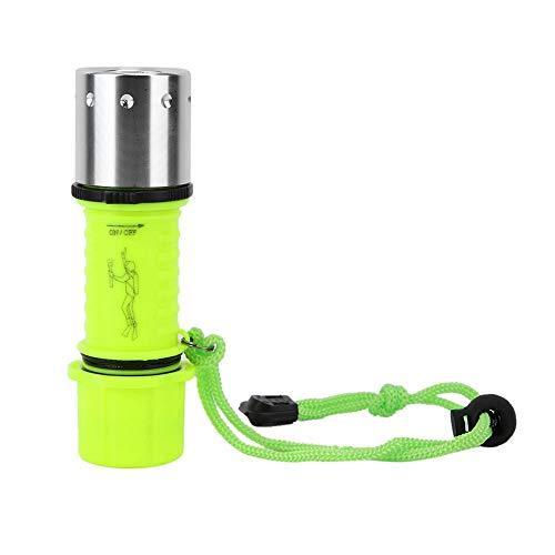 Vobor al Aire Libre Impermeable de Alto Brillo LED Linterna de Buceo luz de fotografía subacuática