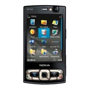 T-Mobile Nokia N95 8 GB -negro