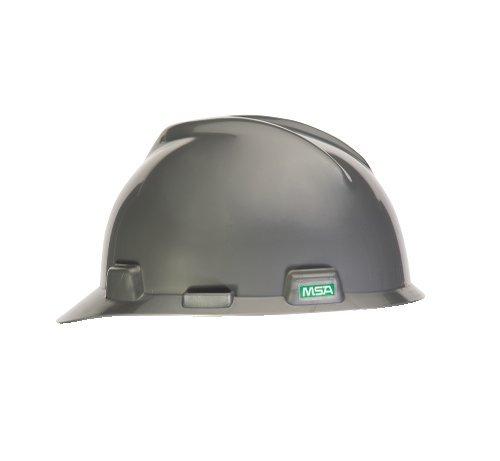 MSA V-Gard 484340 - Gorra de suspensión Staz-On estilo casco duro, plateado, estándar