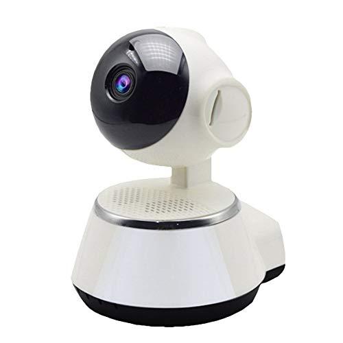 ClookYuan V380 HD Mini IP-camera, draadloos, smart wifi, bewakingscamera, audiobewaking, 720p, babymonitor, beveiligingscamera thuis - wit