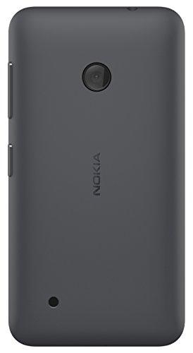 Nokia Custodia Rigida Incastrabile per Nokia Lumia 530 - Grigio Scuro