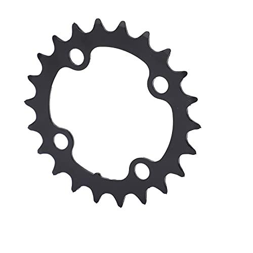 Lantuqib Plato Hueco de Bicicleta 22T, Larga Vida útil Plato de manivela de Bicicleta MTB 22T para el Trabajo