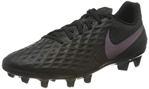 Nike Legend 8 Academy Fg/MG, Football Shoe Unisex-Adulto, Nero, 44 EU