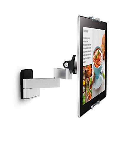Vogel's TMS 1030 Paquete de montaje: soporte de tablet en pared para tablets de 7-13 pulgadas, Giratorio hasta 180º, Inclinable hasta 15º, También compatible con iPad y Samsung Galaxy Tab