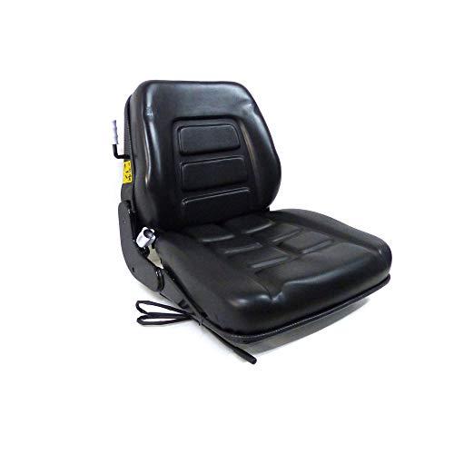 Asiento con suspensión integrada para tractor sobre orugas y carretilla elevadora, cód.38026