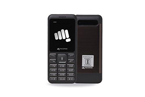 Micromax X591 Gray (1800 mAh Battery) Amazon Rs. 999.00