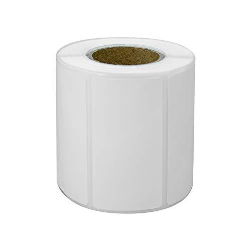 Thermodruckpapier für Thermodrucker, Barcode-Sticker / Etiketten / selbstklebende Thermotypen, 5 Rollen(50x25x300)
