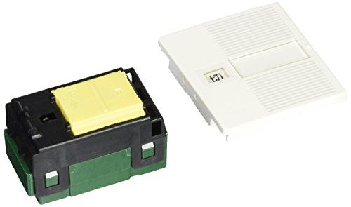 パナソニック(Panasonic) 埋込「入」「切」表示スイッチセットダブル用 ホワイト WTC525123W