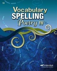 Vocabulary, Spelling, Poetry IV - Abeka 10th Grade 10 Highschool Spelling, Vocabulary, and Poetry Student Work Book