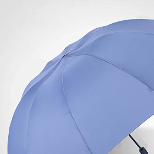 KWHY 130 CM Big Umbrla Mannen Ra Vrouw Wdproof Grote Paraplu's Mannelijke Vrouwen Sun Big Umbrla Outdoor Pluie, Hemelsblauw