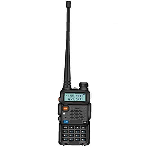 Tuimiyisou Walkie Talkie Baofeng UV-5R Radio de Dos vías Receptor Handheld para Acampar al Aire Libre Campo de Supervivencia