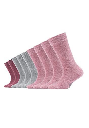 s.Oliver mädchen S20031 Socken, Rosa (Heather Rose 0070), 27-30 (9er Pack)