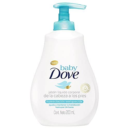 Sabonete Líquido Infantil Baby Dove 200Ml Hidratação Enriquecida, DOVE BABY